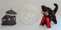 Rotunda, koronkowa bańka, kotek - Janina Hazuka, Ustroń