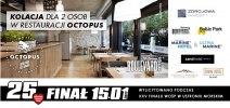 Kolacja dla 2 osób w restauracji Octopus