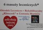 Voucher na 6 masaży leczniczych. Ośrodek Leczniczo-Rehabilitacyjny Klimczok w Ustroniu Morskim.